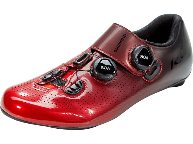 Shimano SH-RC7 Bike Shoes, red
